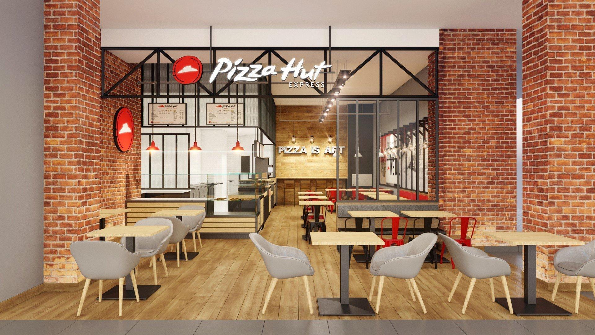 Pizza hut express s 39 installe au carr s nart 77 lendopolis for Au bureau carre senart